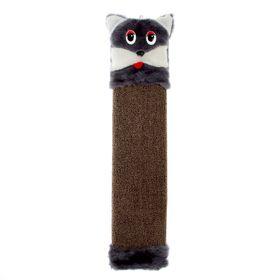 "Когтеточка ""Кошка"", 51 х 11 х 30 см, ковролин, микс"