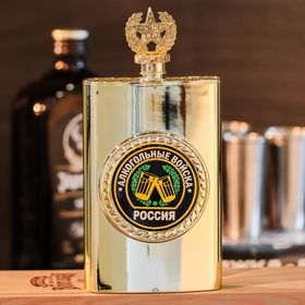 """Flask """"Alcoholic troops,"""" 300 ml"""