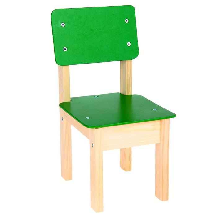 Стул детский №1 (Н=220), цвет зелёный - фото 1155676
