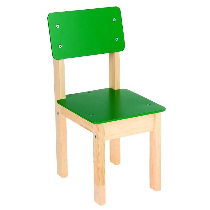 Стул детский №2 (Н=260), цвет зелёный