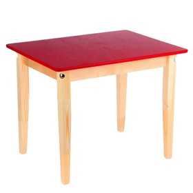 Стол детский №1 (Н=465) (600х450), цвет малиновый