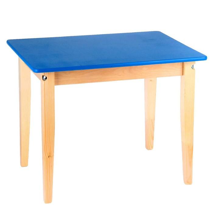 Стол детский №2, 600 х 450 х 465 мм, цвет синий