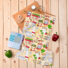 Подарочный набор вафельных полотенец Bonita Специи (45х71, 35х61 2шт) 120г/м хл100%