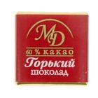 "Плитки ""Горький шоколад"" 60% 5г/500шт"