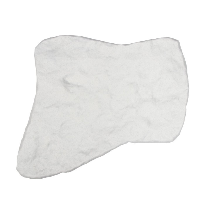 "Плитка садовая, 55 х 42 см, пластик, светлый мрамор, ""Камень № 1"""