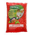 Удобрение Сотка Для Томатов, Перцев и Баклажанов пакет, 1 кг