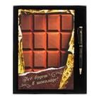 """Набор подарочный """"Все будет в шоколаде"""" ежедневник 96 листов+ручка"""