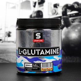 Глютамин SportLine L-Glutamine Powder, цитрусовый микс, 500 г
