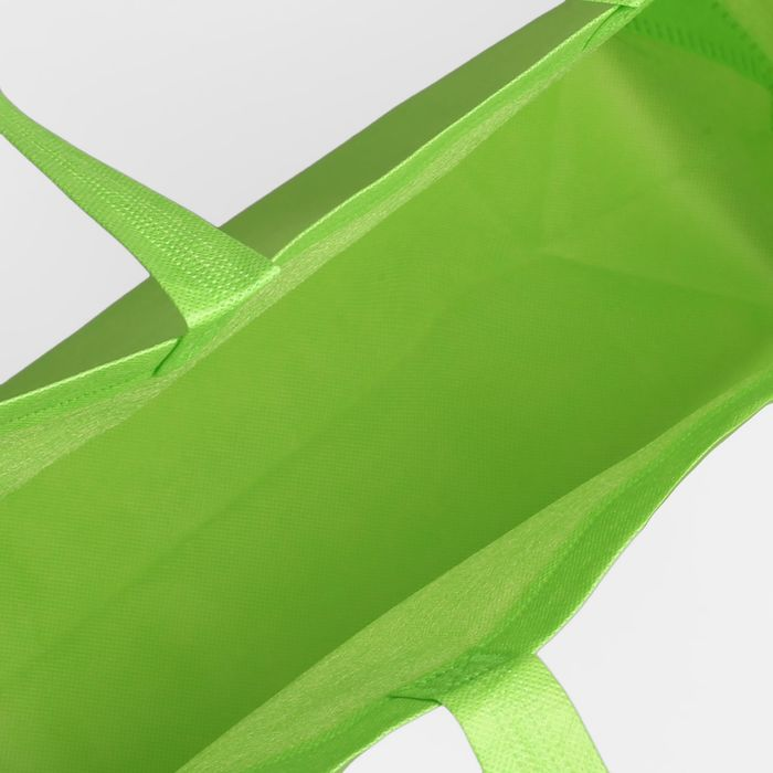 Сумка хозяйственная, 1 отдел, цвет зелёный