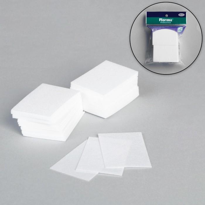 Салфетки для снятия лака, безворсовые, 100шт
