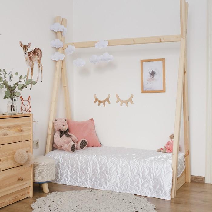 Покрывало детское Этель Ультрастеп Нежность, размер 110х150 +-2 см, цвет белый, 90 г/м2