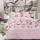 Постельное бельё APRIL 1,5 сп., 160x240, 160x220, 50х70, бязь 115 г/м², цвет розовый