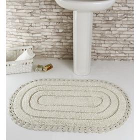 Коврик для ванной, MODALIN YANA, 60x100 см, 1600 г/м2, цвет кремовый