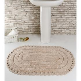 Коврик для ванной, MODALIN YANA, 60x100 см, 1600 г/м2, цвет пудра