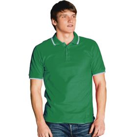 Рубашка мужская, размер 50, цвет зелёный