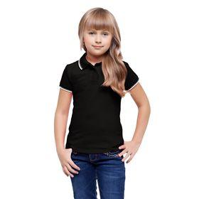 Рубашка детская, рост 140 см, цвет чёрный