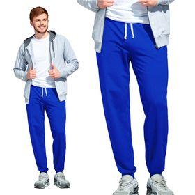 Брюки мужские, размер 52, цвет синий Ош