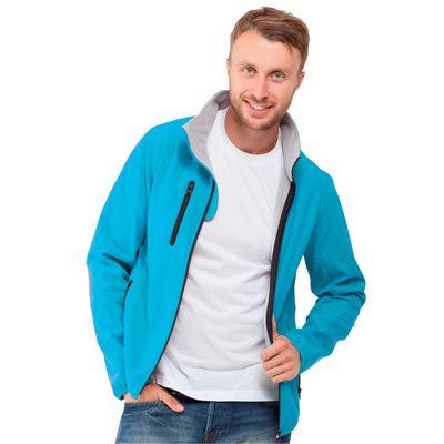 Куртка мужская StanThermoSkin, размер 46, цвет лазурный 275 г/м