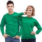 Толстовка муж/жен StanSweatshirt, размер 40, цвет зелёный 280 г/м
