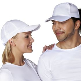 Бейсболка StanCap, one size, цвет белый 150 г/м 10P