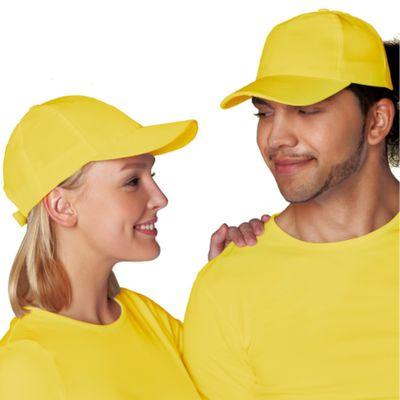 Бейсболка StanCap, one size, цвет жёлтый 150 г/м 10P