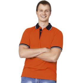 Рубашка мужская, размер 50, цвет оранжевый