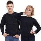 Толстовка муж/жен StanSweatshirt, размер 56, цвет чёрный 280 г/м