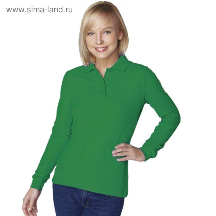 Рубашка-поло женская StanPolo, размер 42, цвет зелёный 185 г/м 04SW