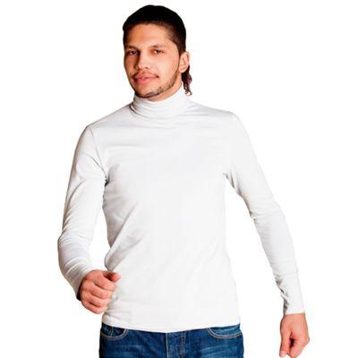 Водолазка мужская StanSmart, размер 48, цвет белый 180 г/м