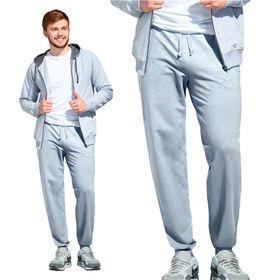 Брюки мужские, размер 48, цвет серый меланж Ош
