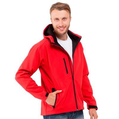 Куртка мужская StanThermoShell, размер 52, цвет красный 340 г/м