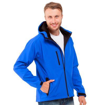 Куртка мужская StanThermoShell, размер 54, цвет синий 340 г/м