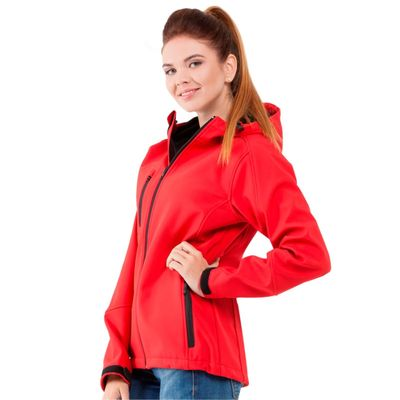 Куртка женская StanThermoShellWomen, размер 44, цвет красный 340 г/м 71W