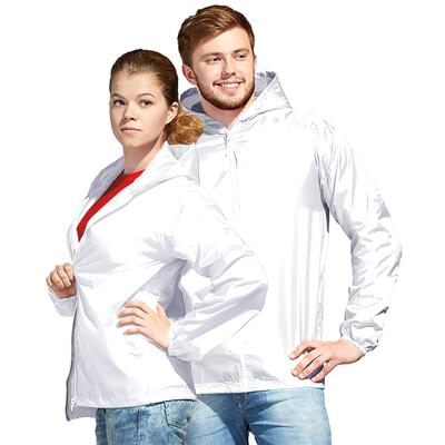 Ветровка муж/жен StanWind, размер 48, цвет белый