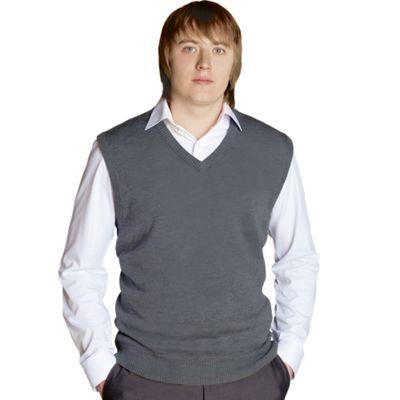Жилет мужской StanOffice, размер 50, цвет светло-серый 27