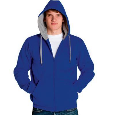 Толстовка мужская StanStyle, размер 52, цвет синий-серый меланж 280 г/м 17