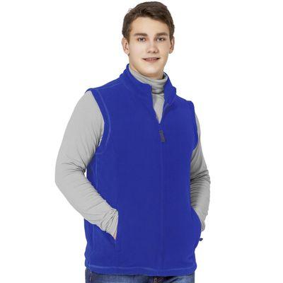 Жилет мужской StanFleece, размер 44, цвет синий 200 г/м