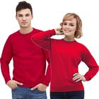 Толстовка муж/жен StanSweatshirt, размер 50, цвет красный 280 г/м