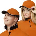 Бейсболка StanTwoСolors, one size, цвет оранжевый 200 г/м 11ТС