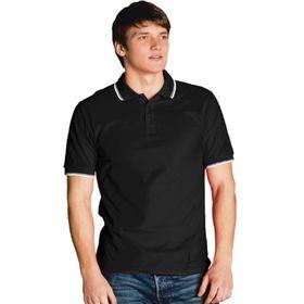 Рубашка мужская, размер 50, цвет чёрный