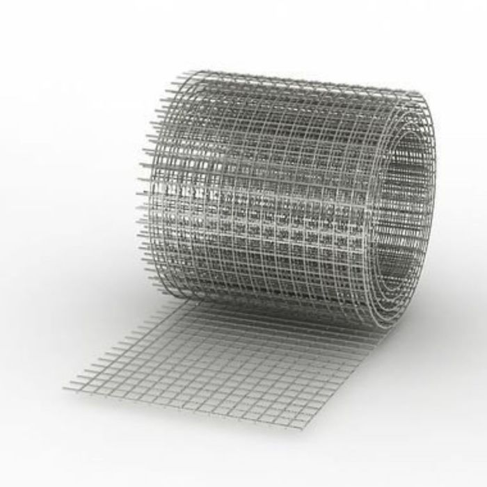 Сетка сварная черная 50х50 мм, толщина 1,4-1,6 (рулон 0,3х50м)