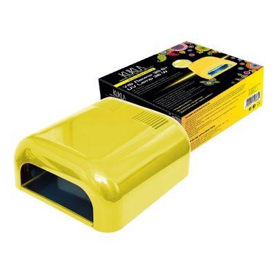 "Лампа для гель-лака JessNail 230 ""KUKLA"", UV, 36 Вт, желтая"
