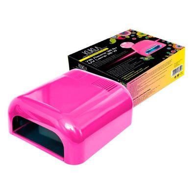 "Лампа для гель-лака JessNail 230 ""KUKLA"", UV, 36 Вт, розовая"