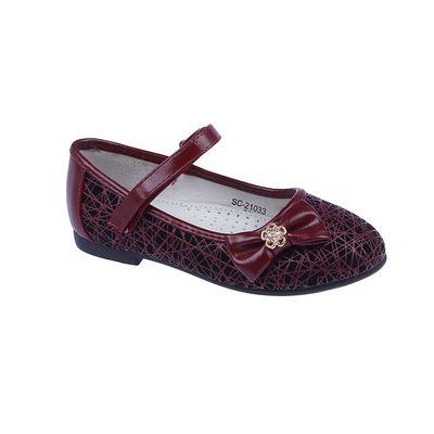 Туфли дошкольные арт. 21033-SC (бордо) (р. 25)