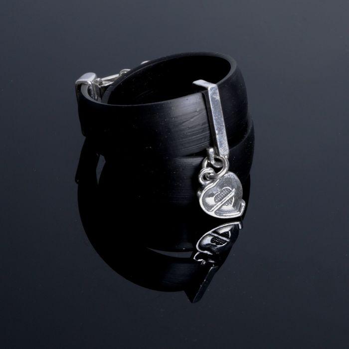 """Браслет """"Адед-Соун"""", цвет чернёное серебро"""