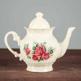 Чайник заварочный 'Восточный' 0,65 л, цветы, микс Ош