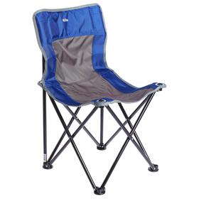 Стул складной «Премиум 3» ПСП3, 46 x 46 x 77 см, синий/серый