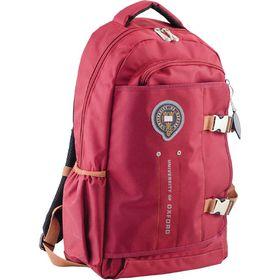 Рюкзак молодёжный Yes OX 302 47 х 30 х 14.5 см, эргономичная спинка, бордовый