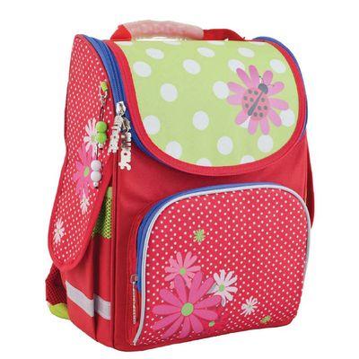Ранец Smart PG-11 34*26*14 для девочки, Ladybug, красный