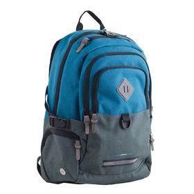 Рюкзак молодёжный Yes T-35 49 х 33 х 18.5 см, эргономичная спинка, отделение для ноутбука, Edmond, голубой/серый